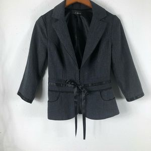 Black business casual jacket